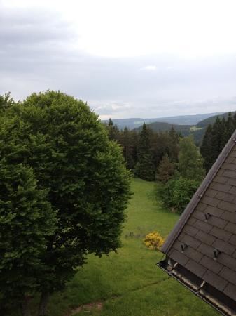 Hotel Schoene Aussicht: view from our window