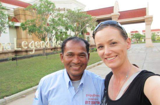 Victoria Angkor Resort & Spa: Mr Rabo