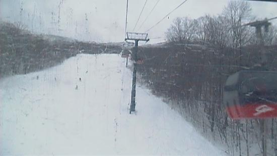 Stowe Mountain : Gondola ride up the mountain