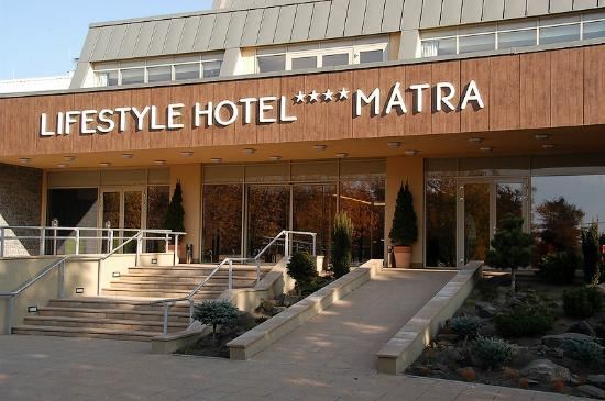 Lifestyle Hotel Matra: Hotel entrance