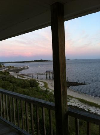Seahorse Landing: another view from private balcony