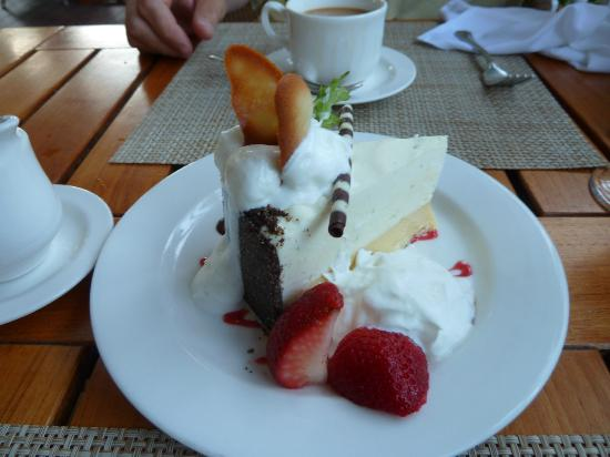 Butterfly Cafe desert