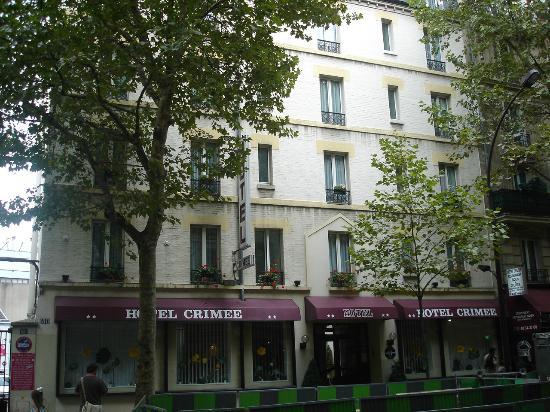 Hotel Crimee : Vista de rua