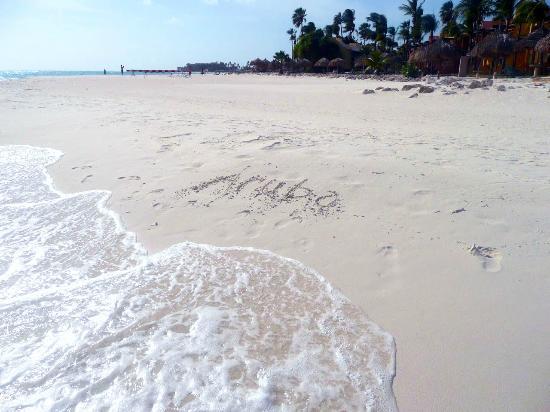 Druif Beach: Aruba in the sand...