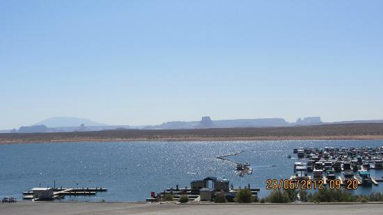 Lake Powell Resort: Vista del hotel