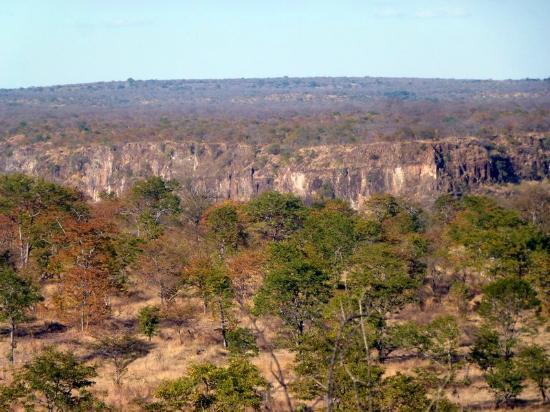 The Elephant Camp : Canyon vue de la chambre