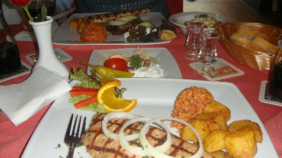 Lauenau, Alemania: Unser griechisches Essen