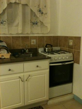 Cole Bay, St Marteen/St. Martin : Kitchenette
