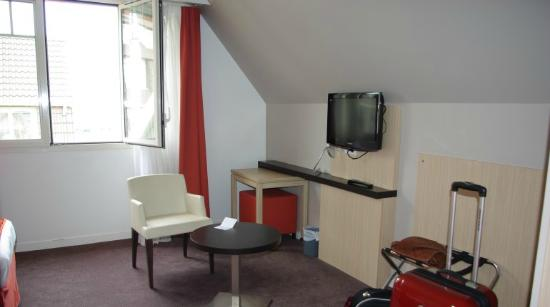 Hotel Red Fox : vue de la chambre