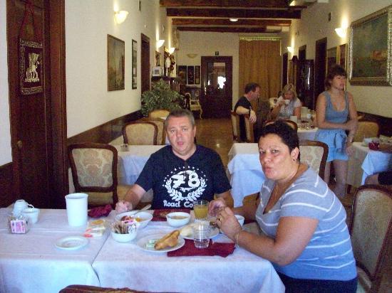 Palazzo Guardi: la sala del desayuno