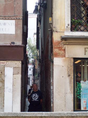 Palazzo Guardi: vistas ala calle