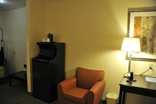 Holiday Inn Express Salt Lake City South-Midvale: chambre