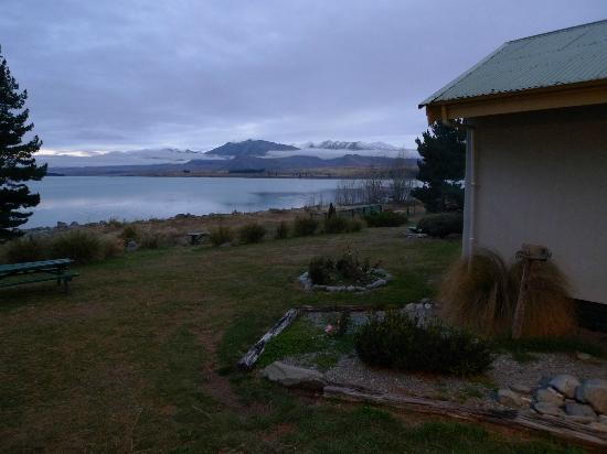 YHA Lake Tekapo: View from outsite the private room