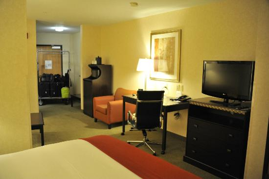 Holiday Inn Express Salt Lake City South-Midvale : chambre