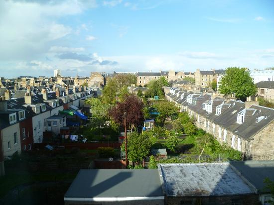 Capital Residence: vue de la chambre sur les jardins
