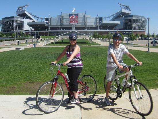 Bikalope Tours: Sports Authority Field, home of the Denver Broncos