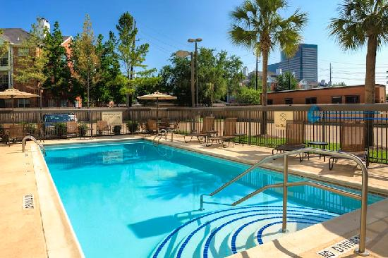 Hampton Inn and Suites Houston Medical Center - Reliant Park: Pool Area