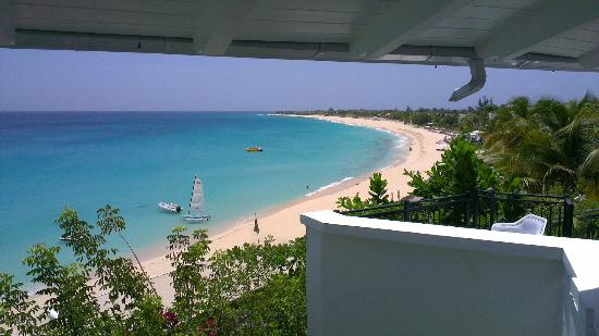 Terres bassi, St. Martin/St. Maarten: View from the restaurant...