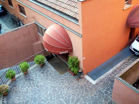 Astoria Hotel Bologna: desde la habitacion