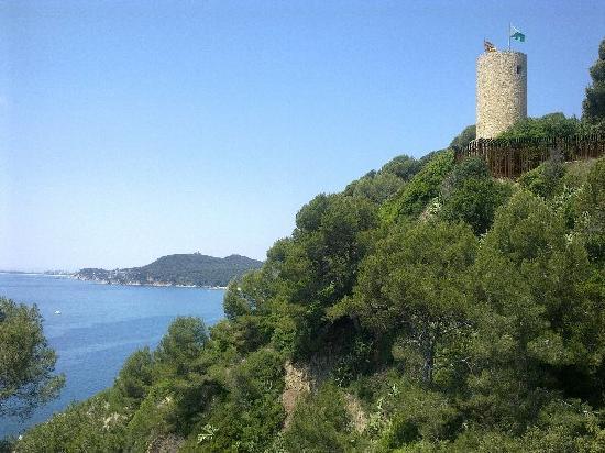 Castell de Sant Joan (Sant Joan Castle) : Beautiful view