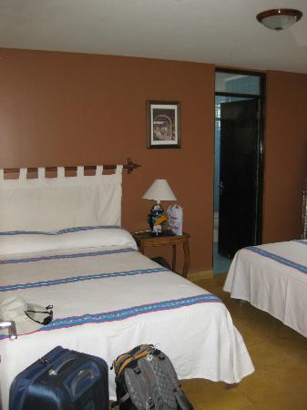 Casa Castillo: Tzintzuntzan room