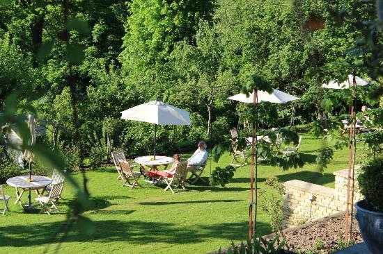 Tasburgh House: verdure calme