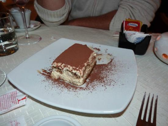 Wine-dark house: great dessert