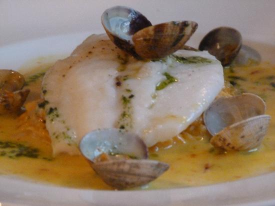 Lamplighter: Turbot with clams