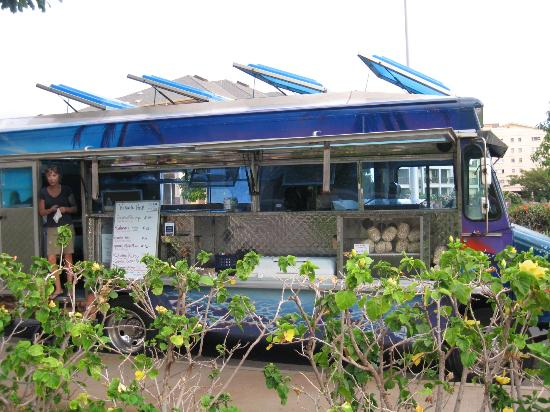 Kinaole Grill Food Truck: Stop here first thing - well worth it.