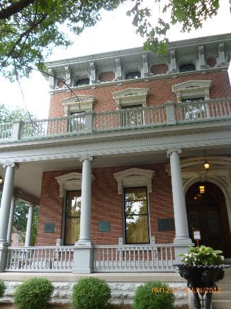Benjamin Harrison Presidential Site : The Benjamin Harrison Home