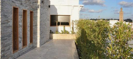 Belere Rabat : Rooftop with a panoramic view over the entire city