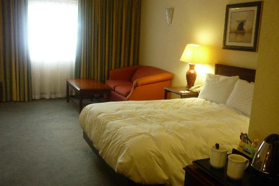 Hilton East Midlands Airport: Standard double