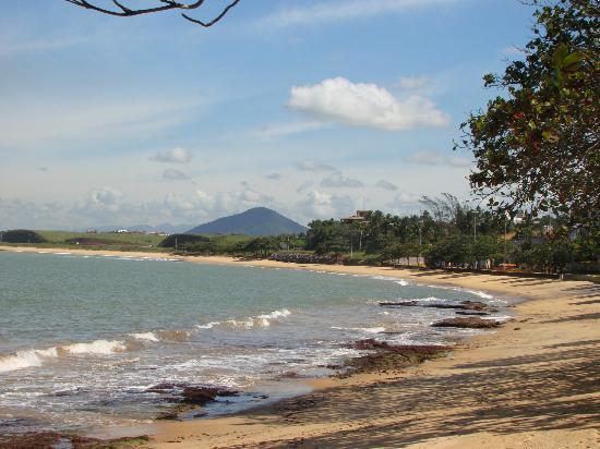 Hotel Da Lea: Praia de Meaipe frente ao Hotel