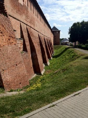 Kolomna, Russie : Стена кремля