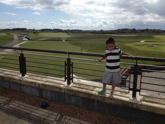 Carnoustie Golf Course Hotel : Lewis Singh at Carnoustie hotel