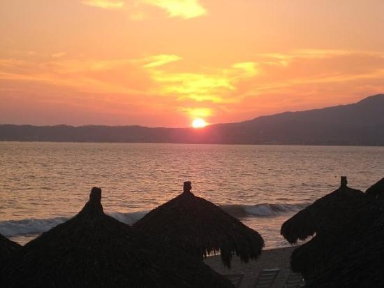 Nuevo Vallarta Beach : Sunset