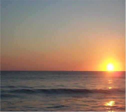 Nuevo Vallarta Beach: Sunset