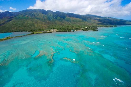 Νήσος Μολοκάι, Χαβάη: Molokai coastline