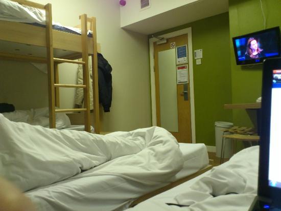 مينجر هوتل لندن هايد بارك - دار ضيافة: habitacion de 6 personas