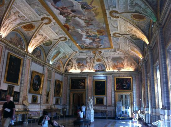 Galerie Borghèse : villa borghese