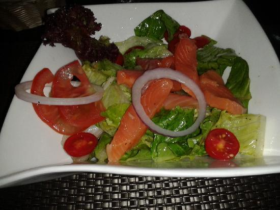 Yiwu, China: Salmon Salad