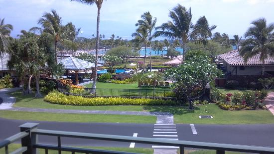 Kolea at Waikoloa Beach Resort: View from the lanai in villa 8E