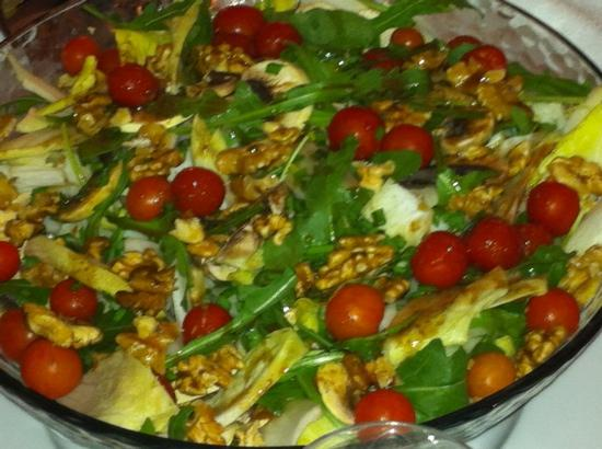 Slovenia : salade de l'été