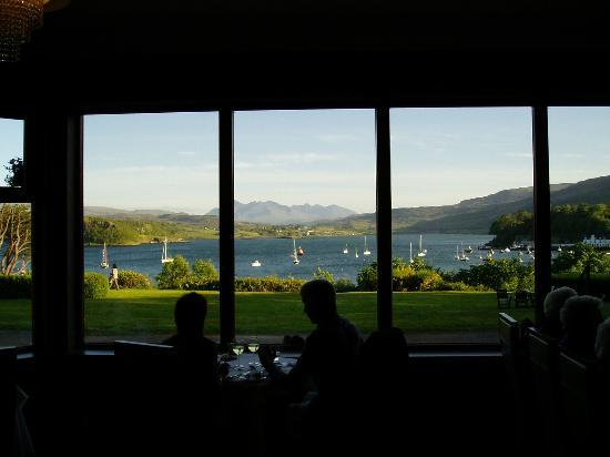 Cuillin Hills Hotel: The View