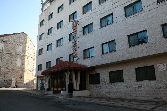Bethlehem Star Hotel : hotel frontside