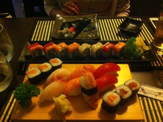 Asahi: Sushi, maki e temaki..!