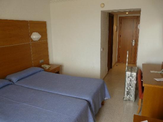 Hotel Hispania: (nicht renoviertes) Zimmer
