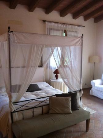Villa I Bossi: our room!