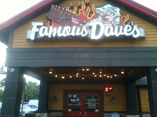 Famous Dave's Barbeque: Main Entry to Famous Dave's in Ft. Myers, FL