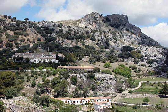 Hotel Puerta de la Villa: Vista de la sierra